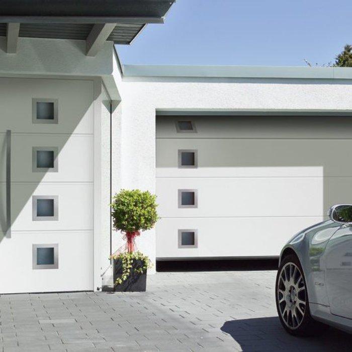Bramy garażowe segmentowe